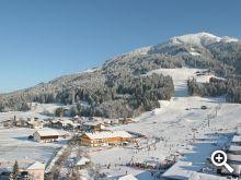 Winter rund um den Schneeberghof in Westendorf