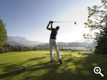 Golfen in Westendorf ab Juli 2013 © by Joe Hoelzl