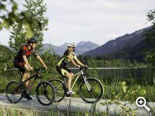 Unterwegs mit unseren Gästefahrrädern © Radwandern by Firma Ghost